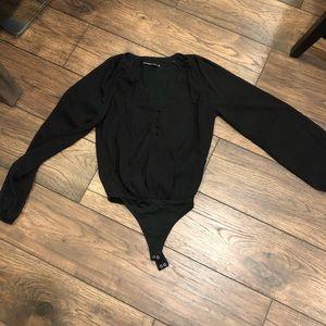 Black Abercrombie & Fitch bodysuit